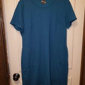 Teal dress XL